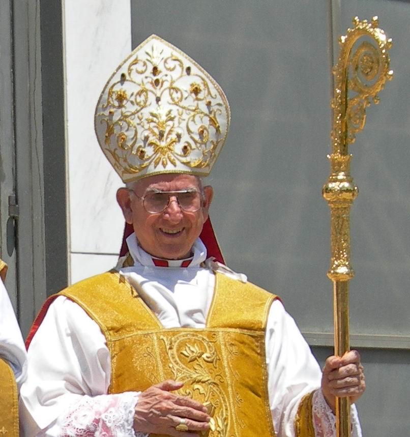 His Eminence with Fr.Justin Nolan, FSSP