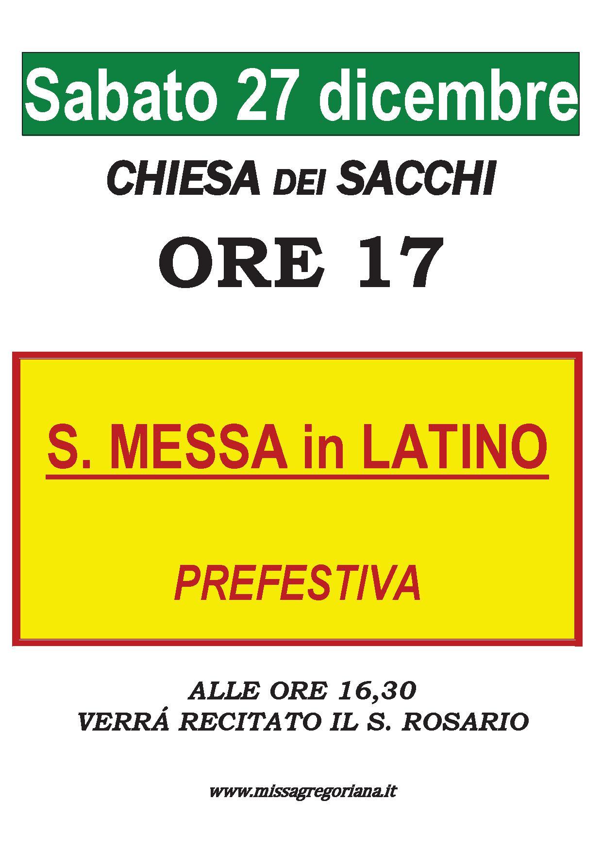 ANNUNCIO SACCHI